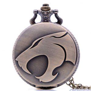 reloj de bolsillo de animales con cadena o leontina