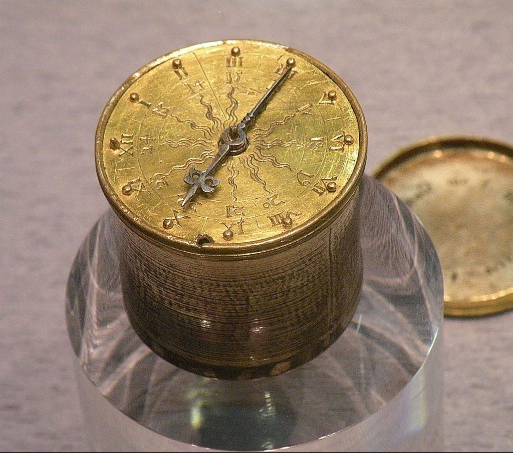 reloj de bolsillo de 1510 por peter hein