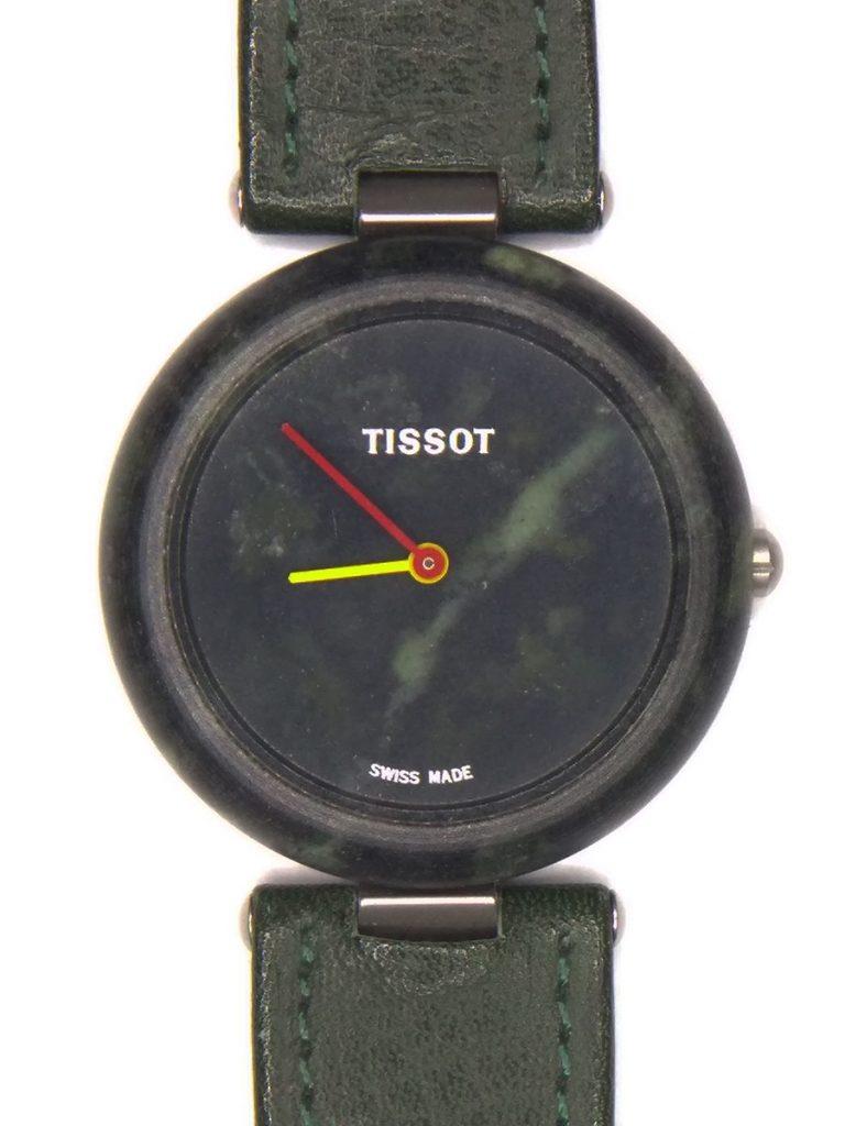 reloj tallado en piedra de tissot
