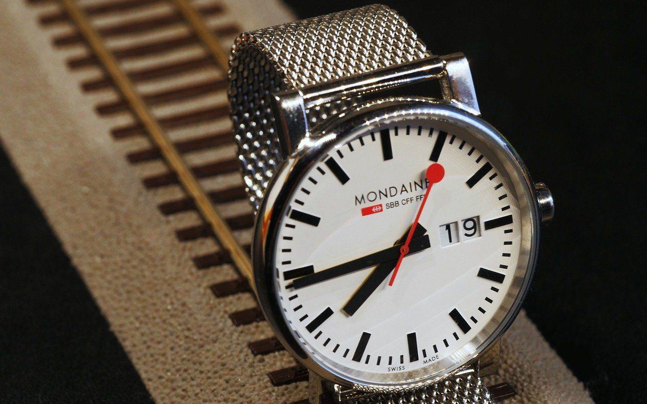 reloj de pulsera de la federacion ferrocarrilera suiza