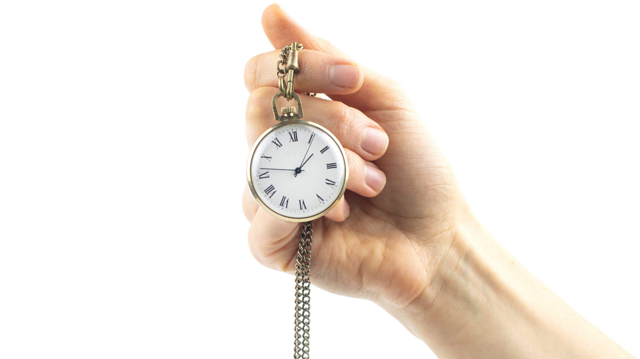 reloj de bolsillo de hombre antiguo