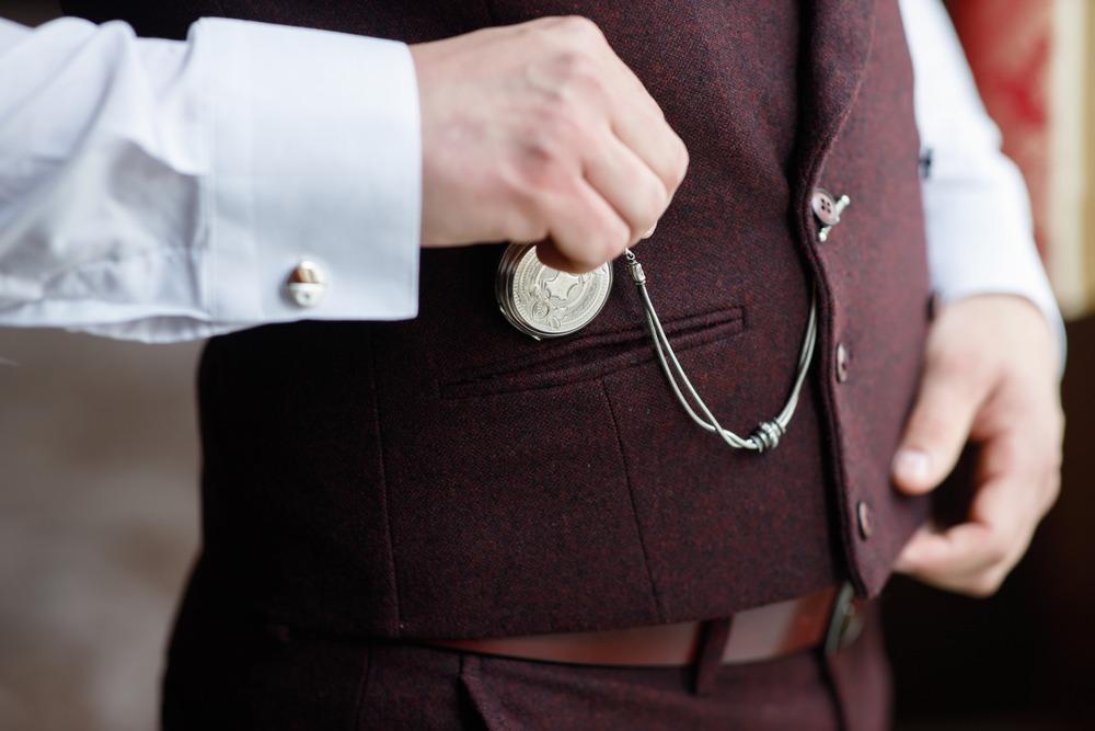 reloj de bolsillo con cadena albert t
