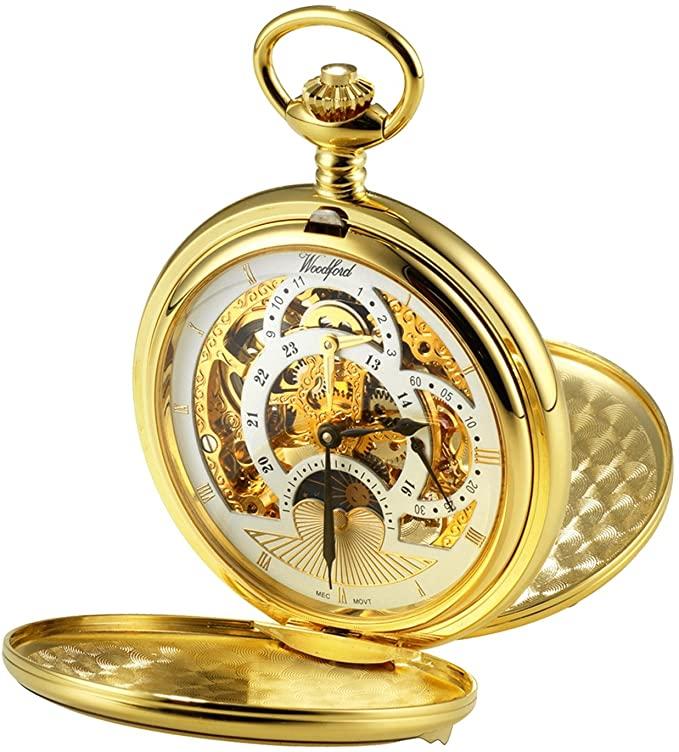 reloj de faltriquera  con doble tapa