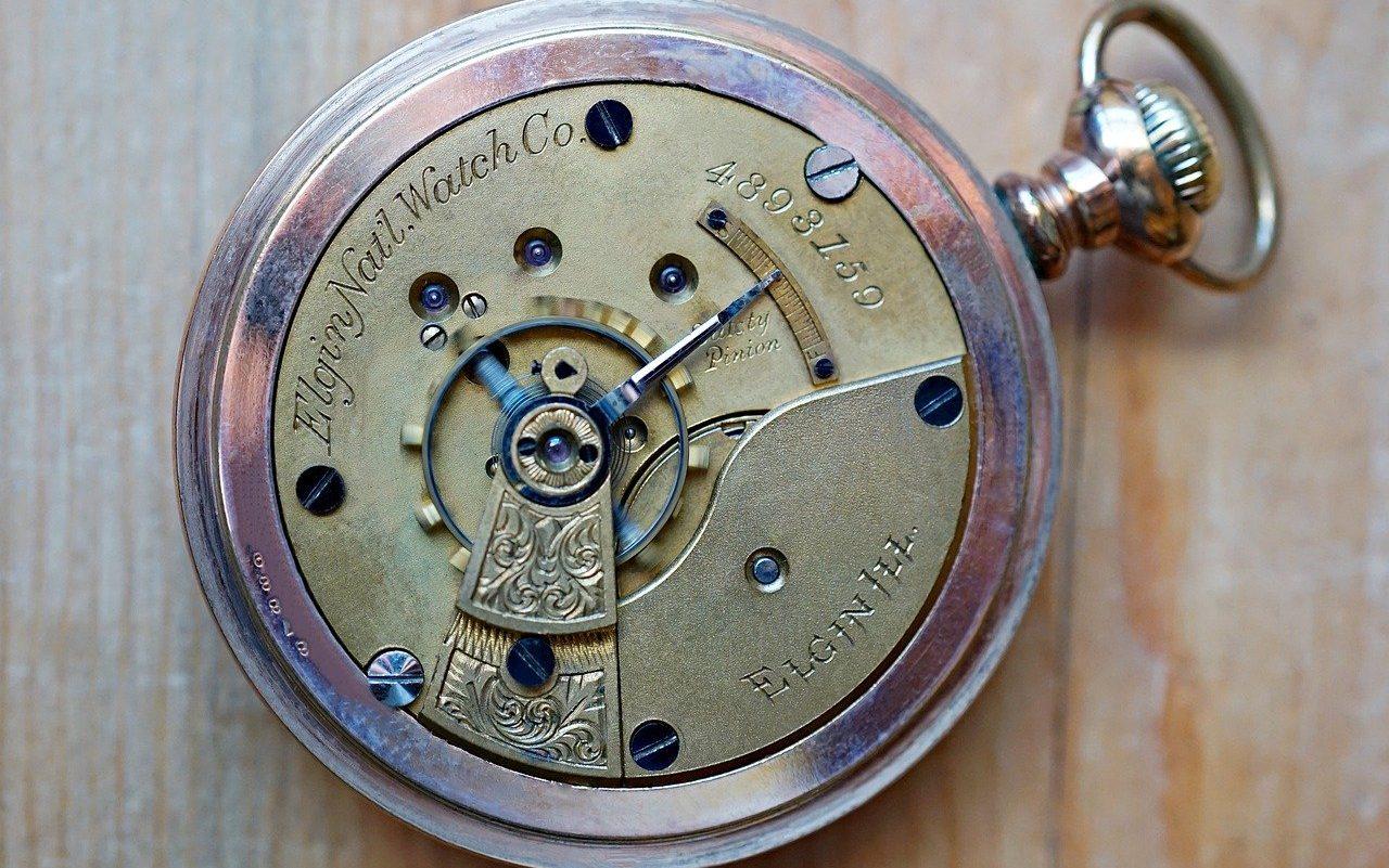 reloj de bolsillo de hombre